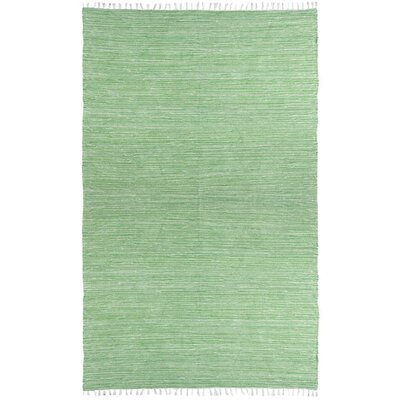 Complex Green Area Rug Rug Size: 5 x 8