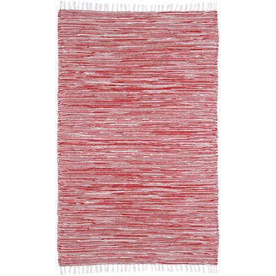Complex Red Area Rug Rug Size: 5 x 8
