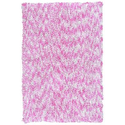 Shagadelic Pink Twist Swirl Rug Rug Size: 3 x 4