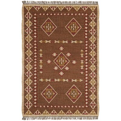 Hacienda Brown/Tan Southwestern Area Rug Rug Size: 8 x 10