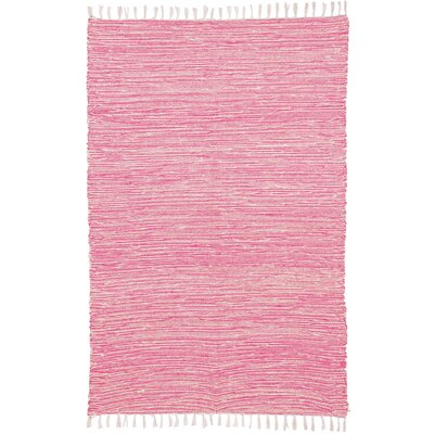 Complex Pink Area Rug Rug Size: 4 x 6