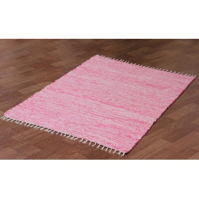 Complex Hand Woven Pink Area Rug Rug Size: 4 x 6