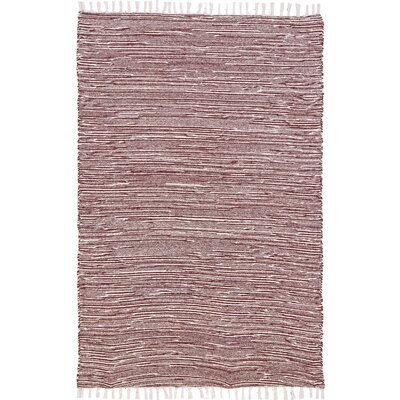 Complex Hand-Loomed Brown Area Rug Rug Size: 9 x 12