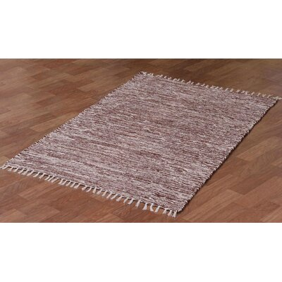 Complex Brown Area Rug Rug Size: 4 x 6