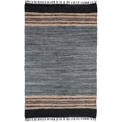 Matador Hand-Loomed Gray Area Rug Rug Size: Rectangle 19 x 210
