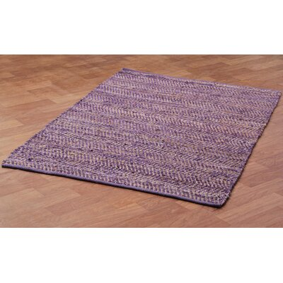 Synthia Purple Area Rug Rug Size: 5 x 8