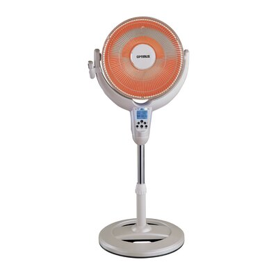 Portable Electric Radiant Compact Heater with Remote Control