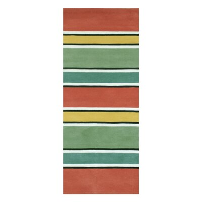 Beach Sunrise Area Rug Rug Size: Runner 26 x 12