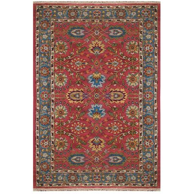 Mahal Handmade Area Rug Rug Size: Rectangle 76 x 96