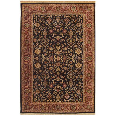 Tabriz Hand-Tufted Area Rug Rug Size: Rectangle 76 x 96