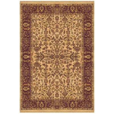 Tabriz Hand-Tufted Area Rug Rug Size: Rectangle 56 x 86