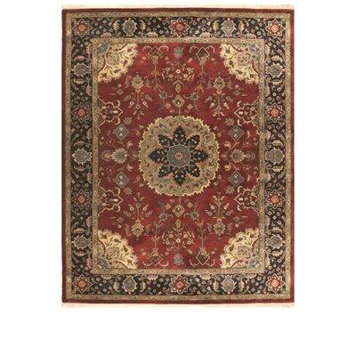 Tabriz Hand-Tufted Area Rug Rug Size: 86 x 116