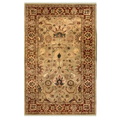 Sultanabad Hand-Tufted Area Rug Rug Size: Rectangle 36 x 56
