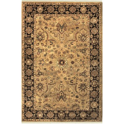 Sultanabad Hand-Tufted Area Rug Rug Size: 56 x 86