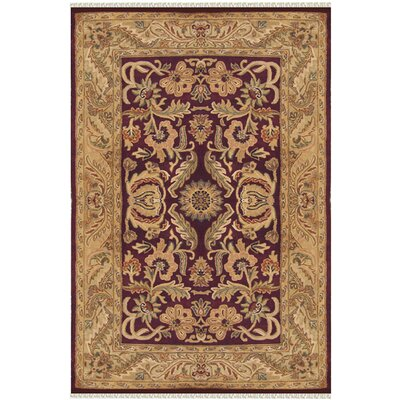 Agra Hand-Tufted Area Rug Rug Size: Runner 26 x 6