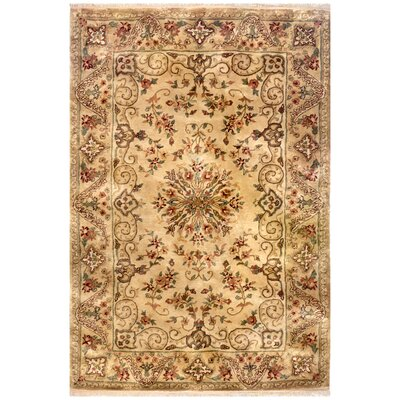Savonnerie Hand-Tufted Area Rug Rug Size: Runner 26 x 8