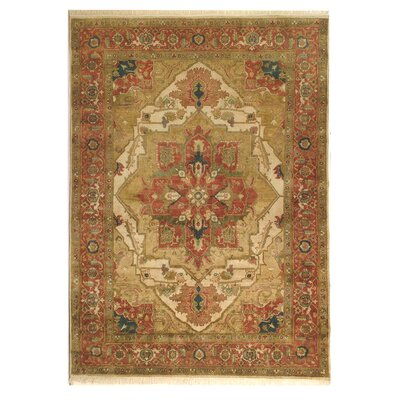 Desert Hand-Tufted Ivory Area Rug Rug Size: Rectangle 12 x 15