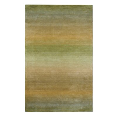 Hand-Tufted Sage Area Rug Rug Size: 2 x 3