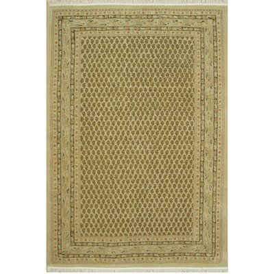 American Home Classic Mir Gold Area Rug Rug Size: 56 x 86