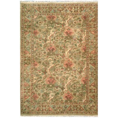 American Home Classic Agra Sage Area Rug Rug Size: Runner 26 x 8