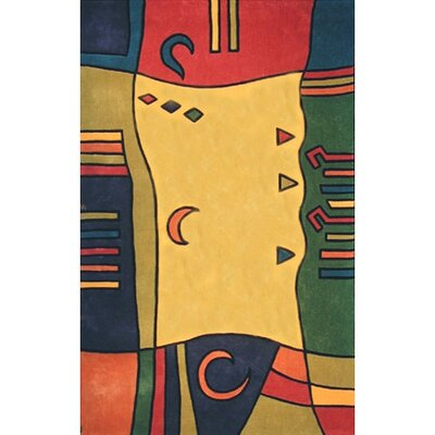 Bright Moon Diamonds Area Rug Rug Size: 36 x 56