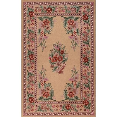 Bucks County Beige/Autumn Sarough Area Rug Rug Size: 36 x 56