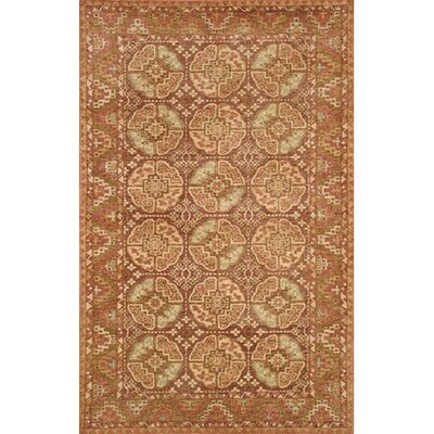Village Brown Village Mahal Rug Rug Size: 5 x 8