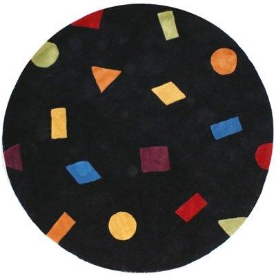 Bright Confetti Area Rug Rug Size: Round 8'