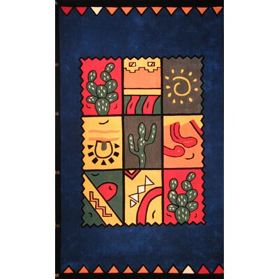 Bright Fiesta Area Rug Rug Size: 8 x 11
