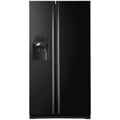 Side By Side Refrigerator Cover In Black