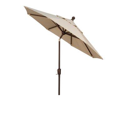 Wanda 7.5' Primo Market Umbrella - Fabric: Solefin Henna at Sears.com