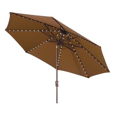 Wanda 11' Oasis Super LED Market Umbrella (3 Pieces) - Fabric: Solefin Tuscan at Sears.com