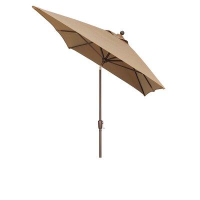 Wanda 6.6' x 10' Primo Market Umbrella - Fabric: Obravia Burnt Orange at Sears.com
