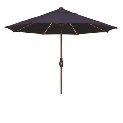 Wanda 9' Napoli Plus Market Umbrella - Fabric: Solefin Navy