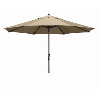 Wanda 11' Oasis Auto Tilt Market Umbrella - Fabric: Sunbrella Forest Green at Sears.com