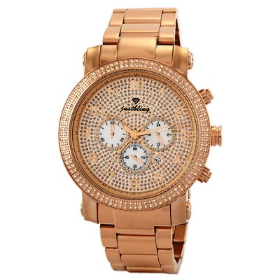 Men's Victor Watch in Rose-Gold