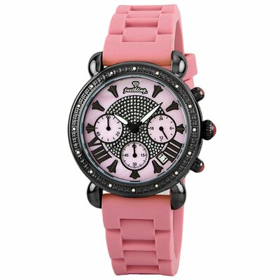 Women's Victory Diamonds Bezel Watch in Pink