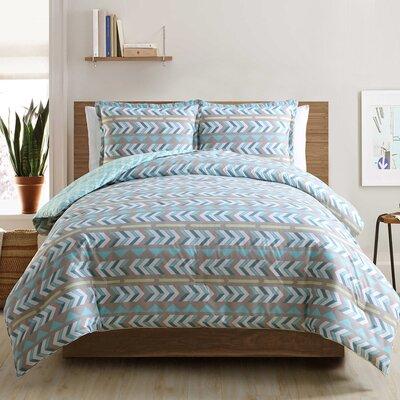 3-Piece Quilt Set Size: King, Color: Aqua