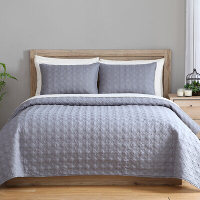 clairebella 3 Piece Twin Reversible Coverlet Set C13-2CV-TWXT-IN-BLUE2