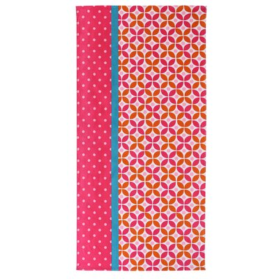 Cirque Beach Towel Color: Pink