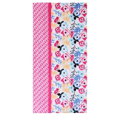 Floral Cotton Beach Towel