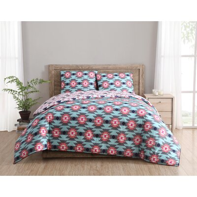 Dreamcatcher Reversible Comforter Set Size: King