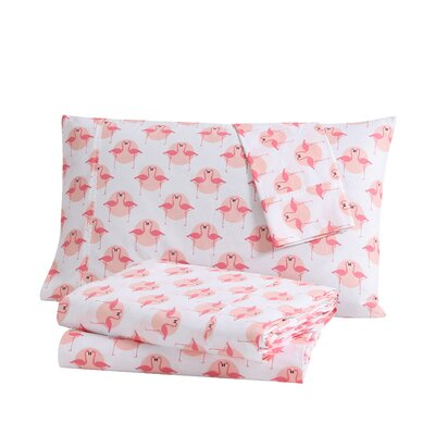 Tropical Cotton Sheet Set Size: Queen