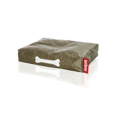 Doggielounge Pet Bed Pillow Color: Olive Green, Size: Small (32 W x 24 D)