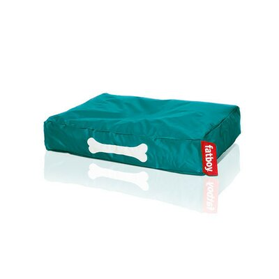 Doggielounge Pet Bed Pillow Color: Turquoise, Size: Small (32 W x 24 D)