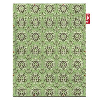 Flying Carpet Casablanca Blanket Color: Green