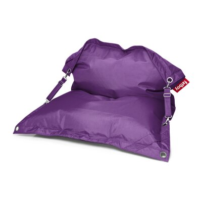 Buggle Up Bean Bag Lounger Upholstery: Purple