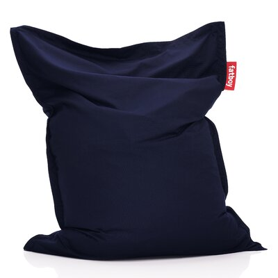 Original Outdoor Bean Bag Lounger Color: Blue