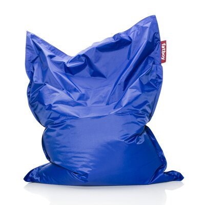 Original Bean Bag Lounger Upholstery: Cobalt