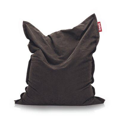 Original Stonewashed Bean Bag Lounger Upholstery: Brown
